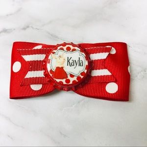 Kayla Name Hair Bow
